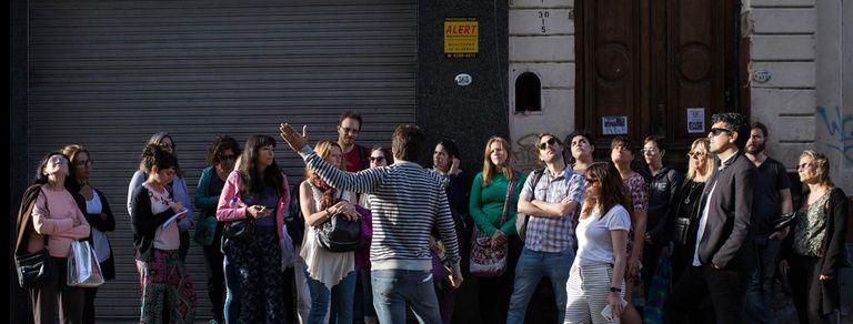 Tour urbano de escritores: tras los pasos de Borges, Cortázar y Gombrowicz