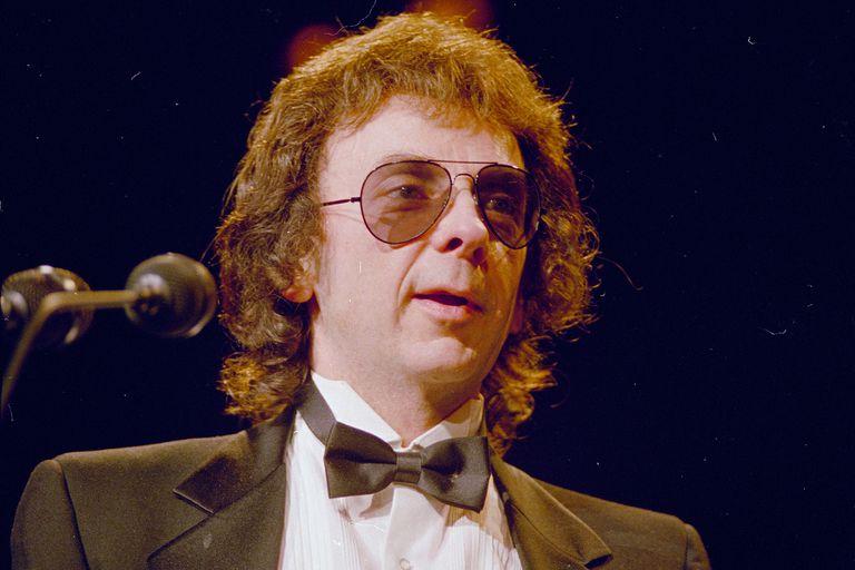 Phil Spector en 1989. El productor musical tenía 81 y cumplía con una pena de 19 años por femicidio