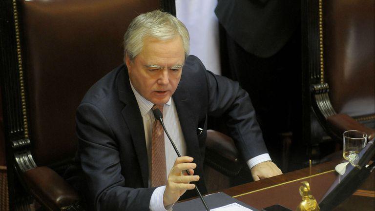 Pinedo, presidente provisional del Senado