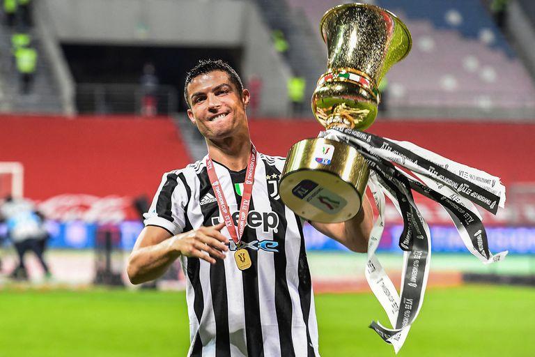 La Copa Italia, el trofeo que faltaba en la colección de Cristiano Ronaldo