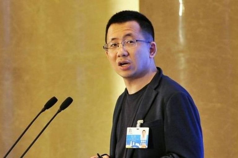 Zhang Yiming es el fundador y director ejecutivo de ByteDance, en una imagen de archivo que data de 2018