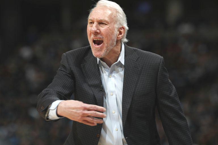 NBA: Gregg Popovich y Stephen Curry suman récords en los playoffs
