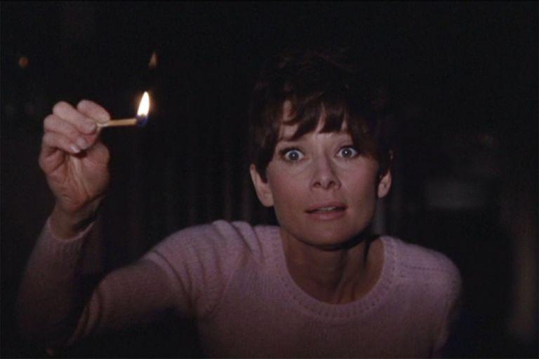 Espera la oscuridad, un thriller espeluznante y un rol atípico en la carrera de Hepburn, por el que recibió una nueva nominación al Oscar