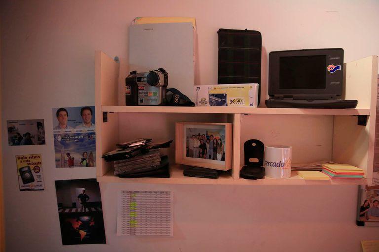 Para subir los productos a la plataforma, usaban una cámara Sony Mavica que guardaba las imágenes en un diskette
