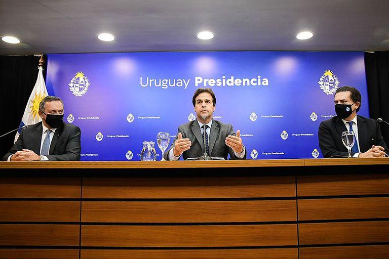 """Lacalle Pou, sobre el acuerdo con China: """"El Uruguay pasa de las palabras a la acción"""""""