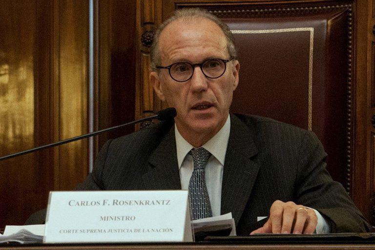 Carlos Rosenkrantz, el nuevo presidente de la Corte