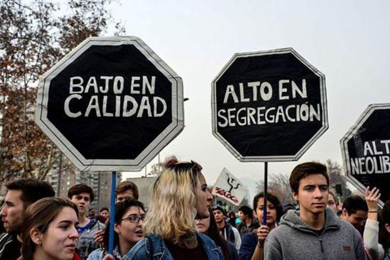 Movilizaciones en Chile exigieron gratuidad y una mejor calidad en la educación en 2016