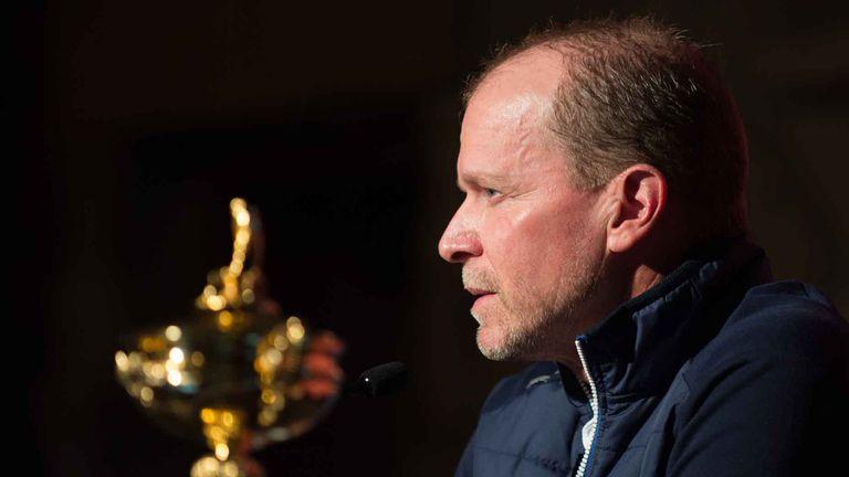Steve Stricker, el capitán de los Estados Unidos que tendrá que tener mucho equilibrio para el armado del equipo en la Copa Ryder