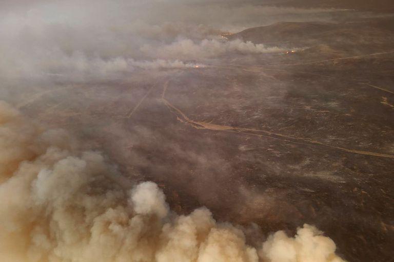 El drama de un productor ganadero afectado por los incendios en Córdoba