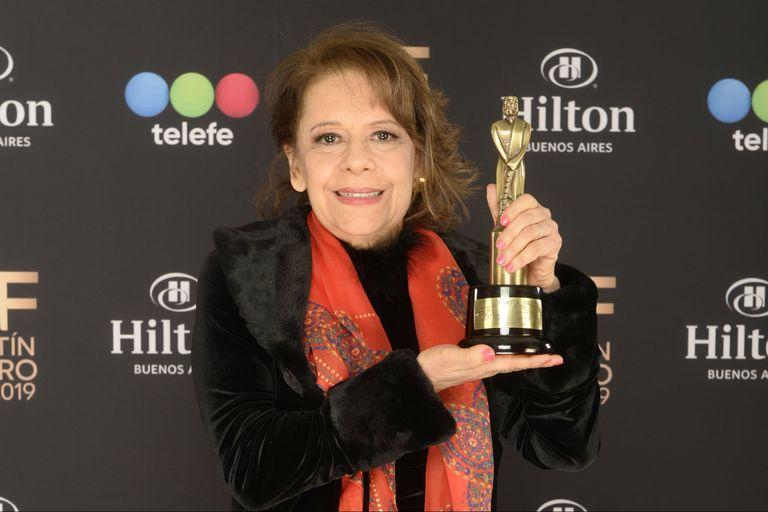 Estela Montes, la mejor locutora