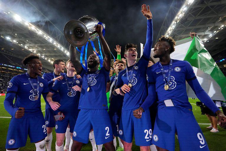 Más allá de la Champions. Chelsea también salió campeón en las redes sociales