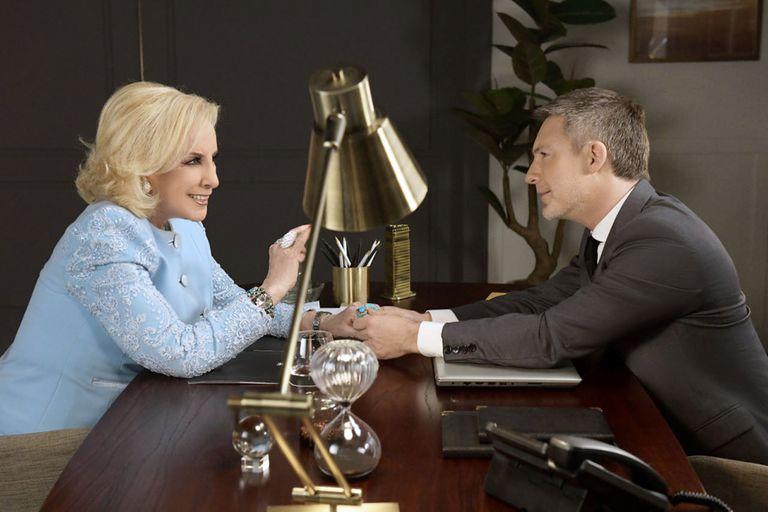 El Host: Mirtha y Peretti aconsejaron a Adrián sobre su vida
