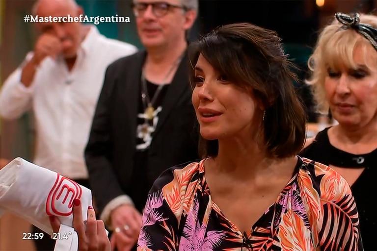 MasterChef Celebrity: la pícara pregunta de Andrea Rincón a su ex, el Mono de Kapanga