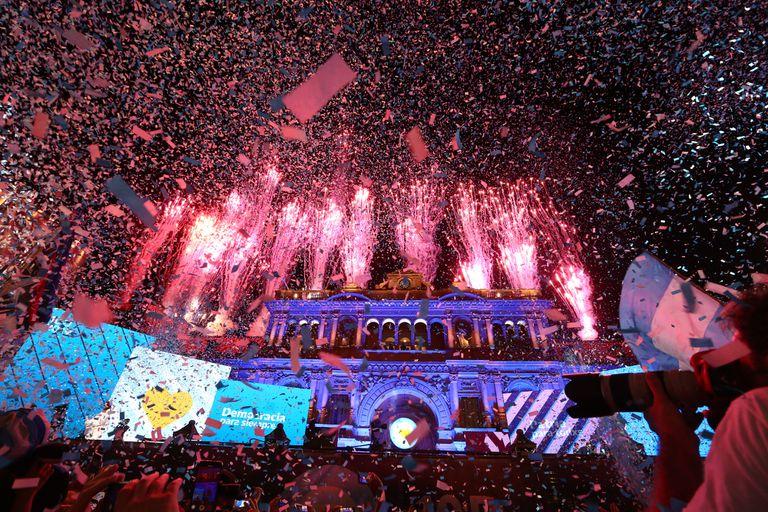 Festival de bandas en Plaza de Mayo: las canciones que se escucharon