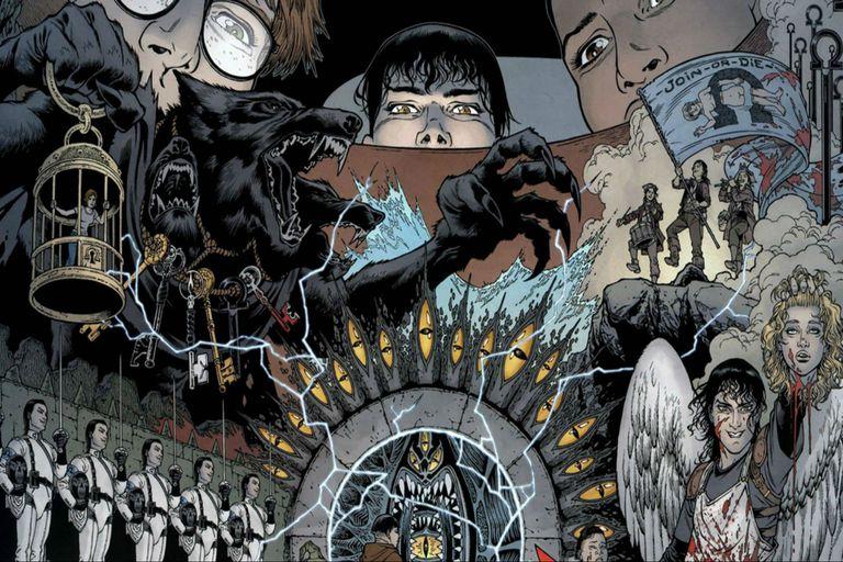 En Lock and Key, los personajes pueden asomarse al interior de una mente humana, entre otras cosas...