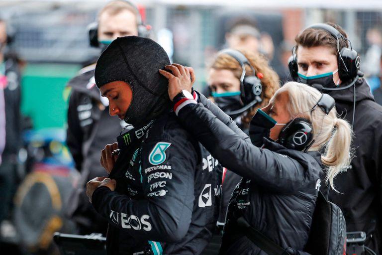 Lewis Hamilton no ocultó el enojo con su equipo después del Gran Premio de Turquía