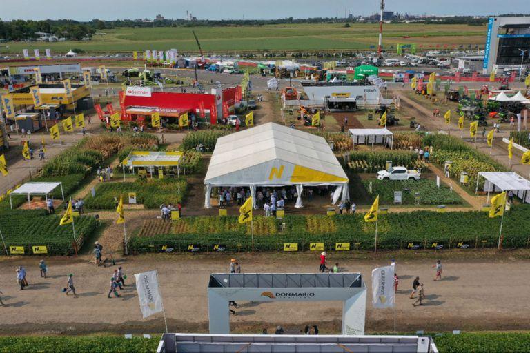 Expoagro 2021: los semilleros comenzaron a sembrar los plots