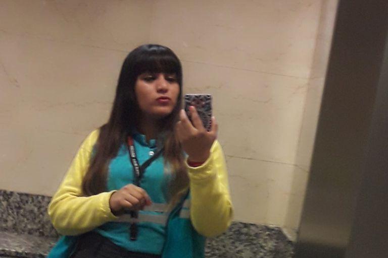 Cinthia Choque, falleció tras el impacto