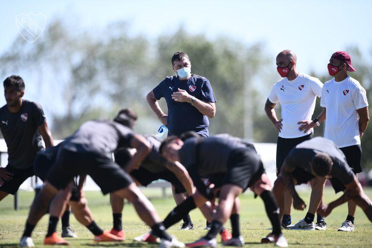 Falcioni puso en sintonía su segundo ciclo al frente de Independiente