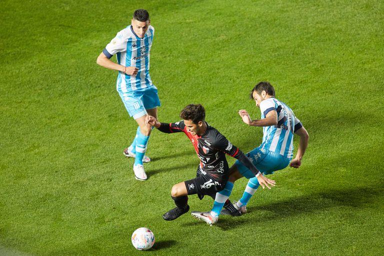 Ferreira, uno de los mejores jugadores de Colón en el primer tiempo de la final ante Racing