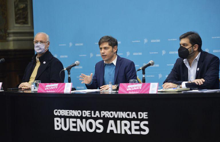 El gobernador Axel Kicillof anunció el retorno gradual de las clases en el AMBA