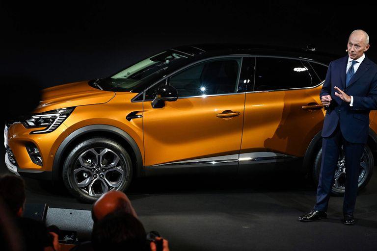 """Renault Captur. El rombo aprovecha el entorno """"electrificado"""" de este salón para mostrar la segunda generación de su SUV chico, del que promete una versión híbrida plug-in (enchufable) en 2020"""