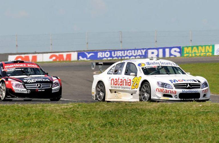 Risatti pegó primero en el Top Race