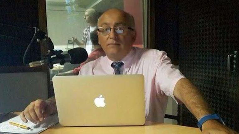 El periodista desaparecido, Daniel Viglione