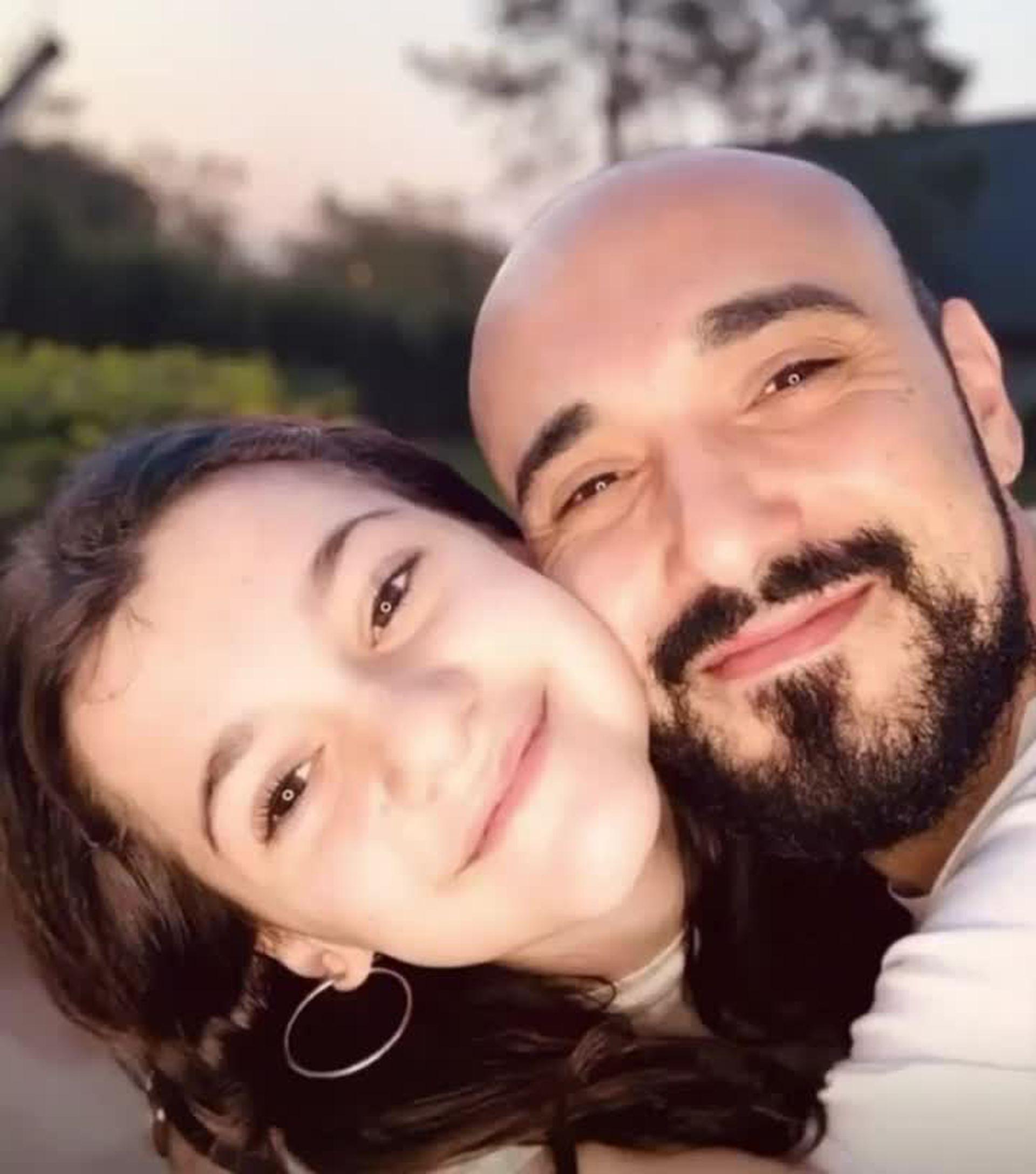 Abel Pintos mantiene una excelente relación con Guillermina, la hija de su pareja Mora Calabrese