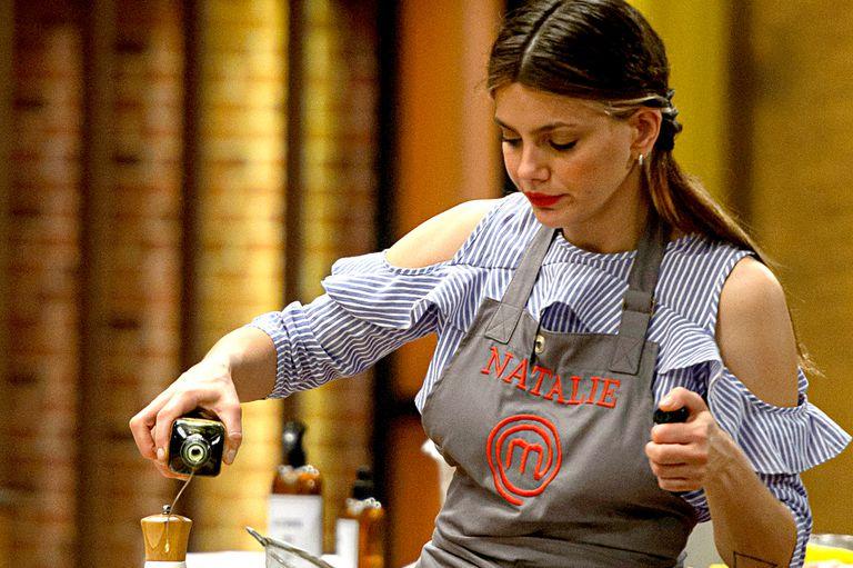 MasterChef Celebrity: Natalie Pérez se despidió del programa a pura emoción