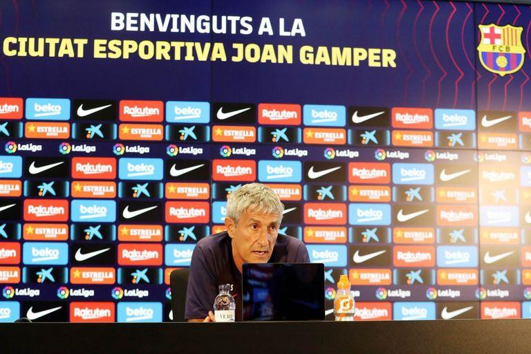 Crisis en Barcelona: Setién le contestó a Messi por las críticas al equipo