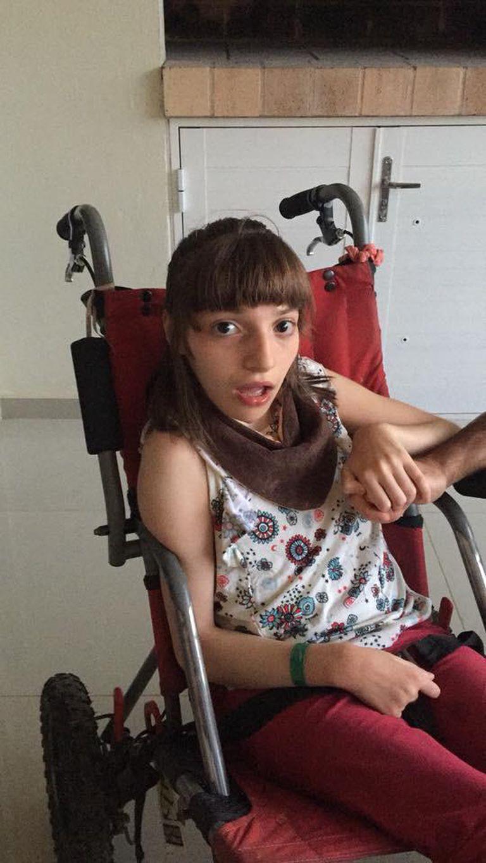 Milagros necesita ayuda de sus padres y de su comunidad dado que tiene paralisis cerebral