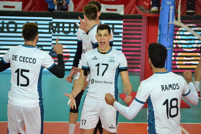 Rumbo al Mundial, la selección de vóleibol volvió a ganarle a Estados Unidos