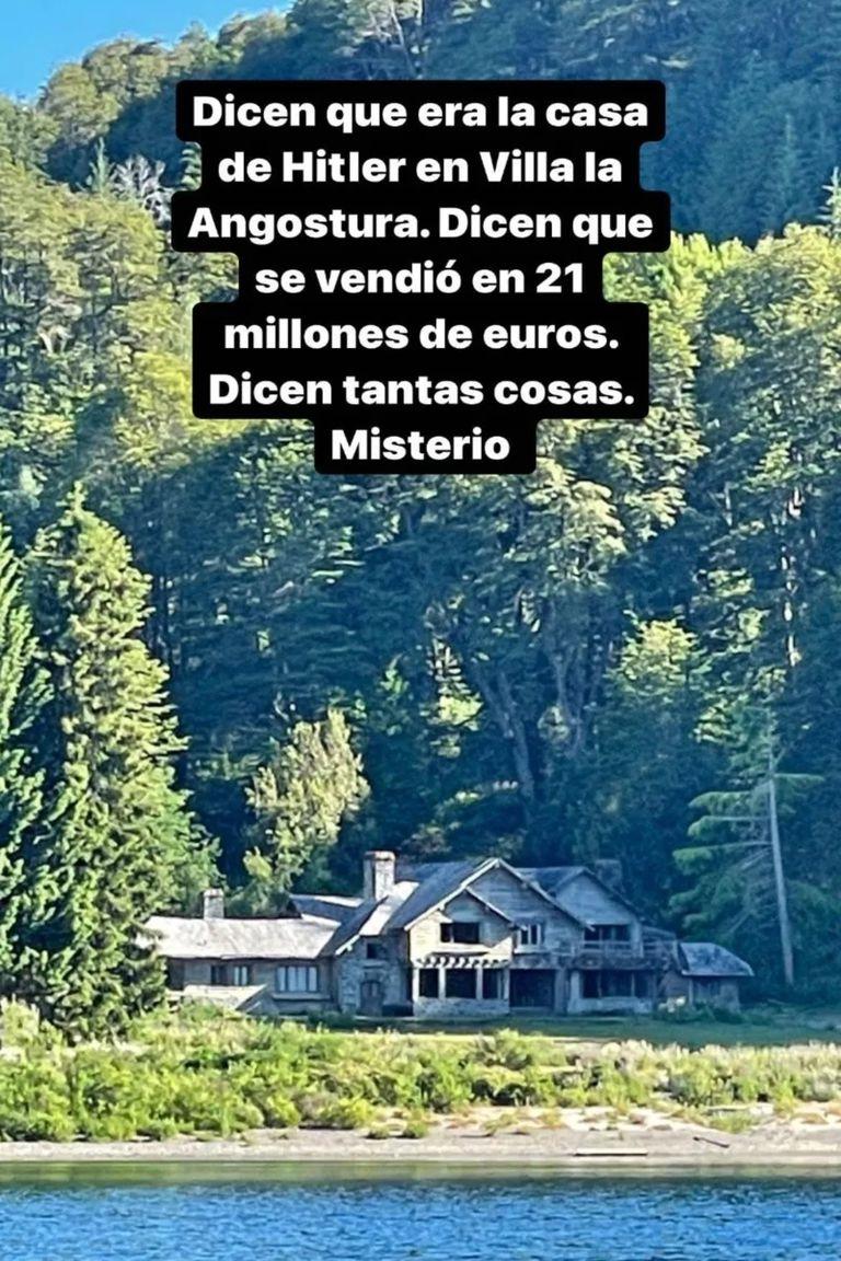 Jorge Rial mostró Inalco, la residencia en la que se dice que vivió Adolf Hitler. Fue construida en 1943 por el reconocido arquitecto Alejandro Bustillo