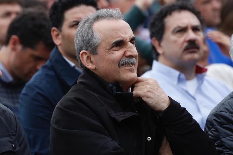 Guillermo Moreno fue uno de los políticos que participó del acto de Hugo Moyano