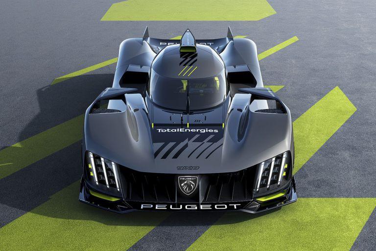 Radiografía: cómo es el Peugeot 9X8 que correrá en Le Mans 2022
