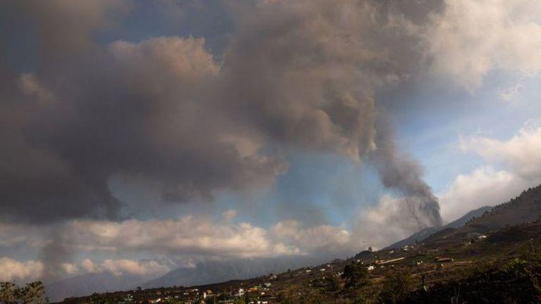 La erupción recién empieza y puede durar varios meses
