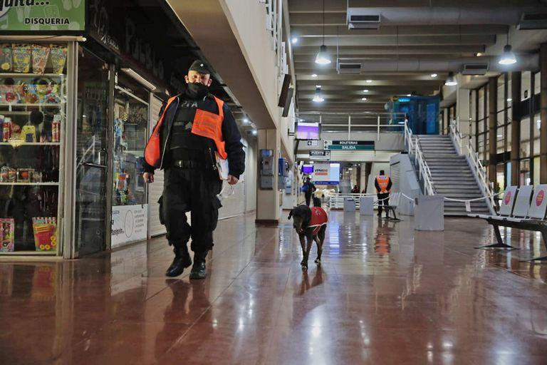 Las fuerzas de seguridad tendrán mayor presencia en la terminal de Retiro