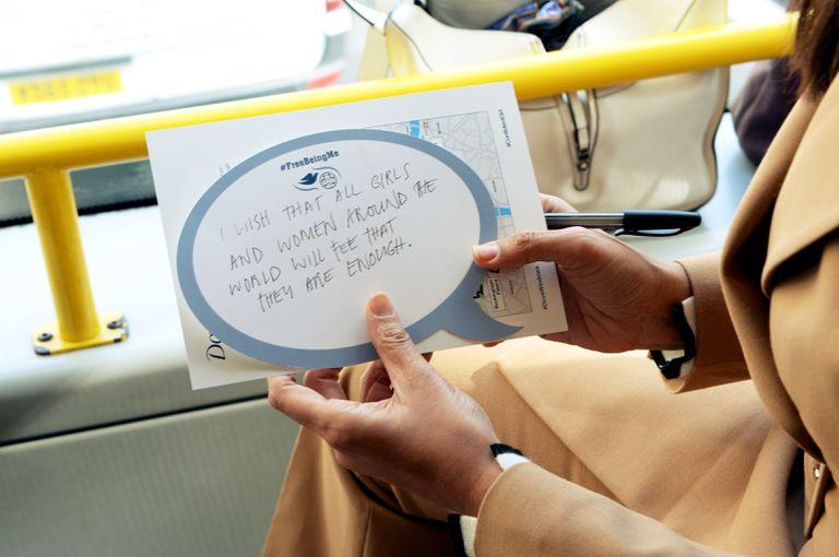 """""""Que las mujeres del mundo sientan que son capaces"""", es el deseo. En Londres se lanzó mundialmente la campaña #mostremos."""