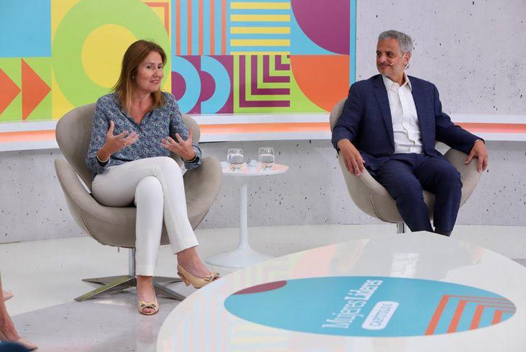 Silvina Mesa, CFO de Renault Argentina, y Néstor García, presidente y CEO de KPMG Argentina