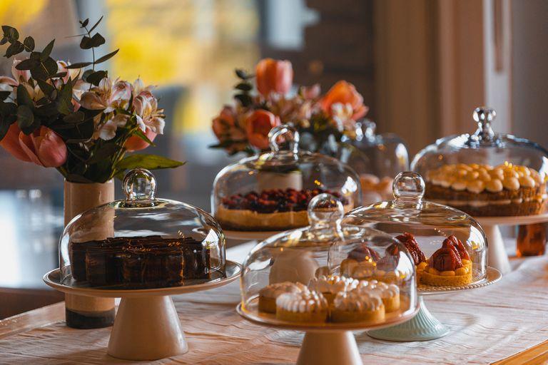Una pequeña casa de té, el secreto mejor guardado de los residentes para degustar pastelería de autor