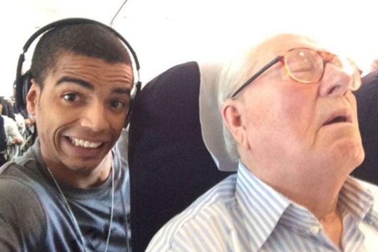 La selfie de la polémica