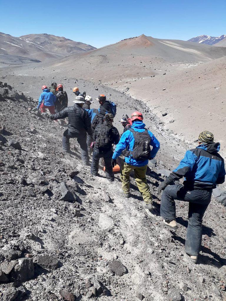 El andinista de 37 años, oriundo de Córdoba, falleció durante el ascenso al volcán Ojos del Salado
