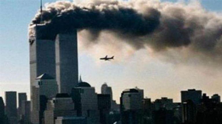El atentado a las torres gemelas, el 11 de septiembre de 2001