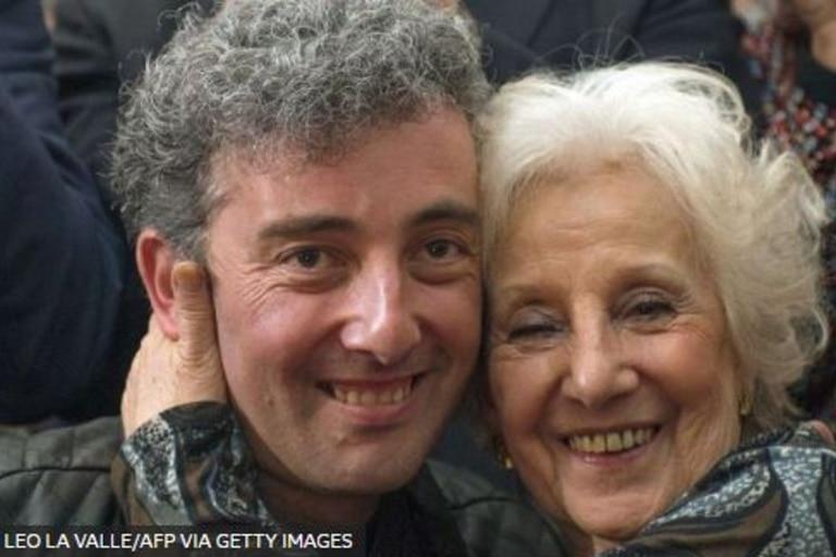 La noticia de que Estela de Carlotto, una de las Abuelas de la Plaza de Mayo, había encontrado a su nieto le dio la vuelta al mundo en 2014