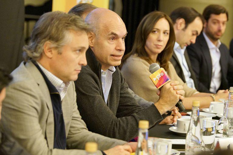 Dujovne prometió la reelección de Macri para inyectar optimismo a Pro