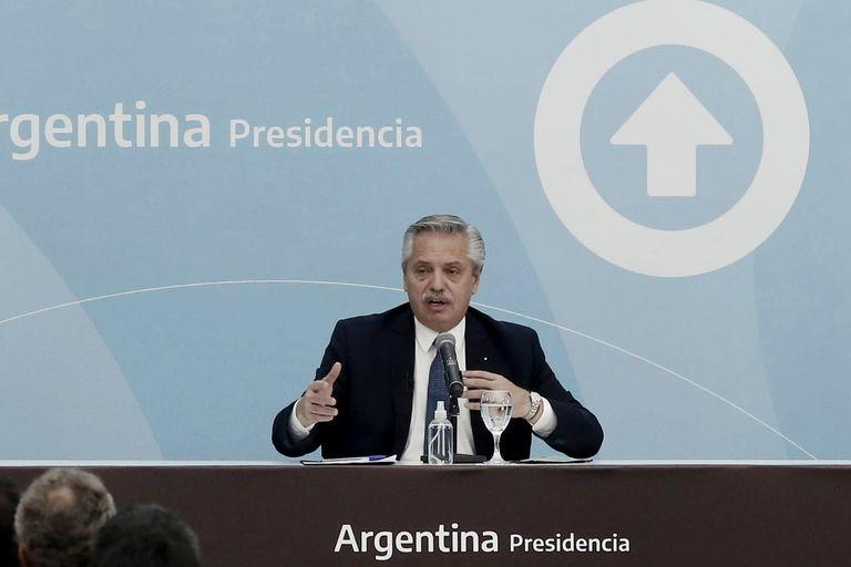 El presidente, Alberto Fernández, presentó el proyecto de Ley de Promoción de Inversiones Hidrocarburíferas