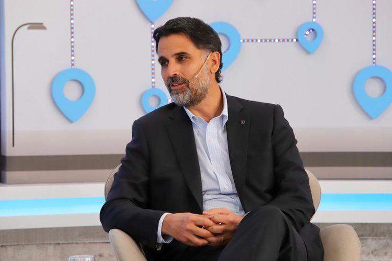 """Manuel Mantilla, presidente y CEO de Mercedes-Benz Argentina, definió el futuro de la movilidad como """"integrado""""."""