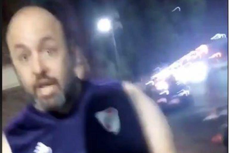 """Suspendieron al taxista """"caza-Uber"""" que agredió a una pareja en Aeroparque"""
