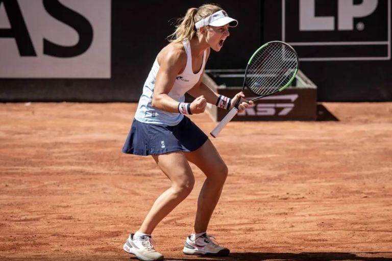 Volvió el tenis mundial tras cuatro meses y la primera ganadora es una argentina